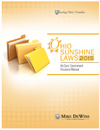Ohio Sunshine Laws