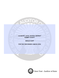 Fiscal Year Ending 6-30-14 Audit