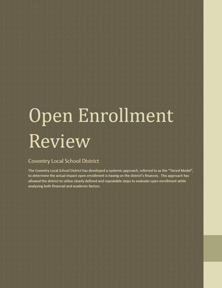Open Enrollment Review