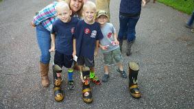 me and Mrs. Rychlik's kids!