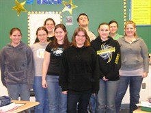 Second year AP class 2008